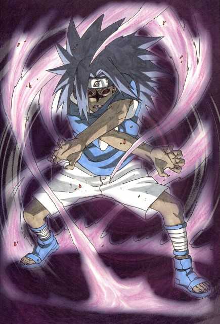 Sasuke Cursed Seal