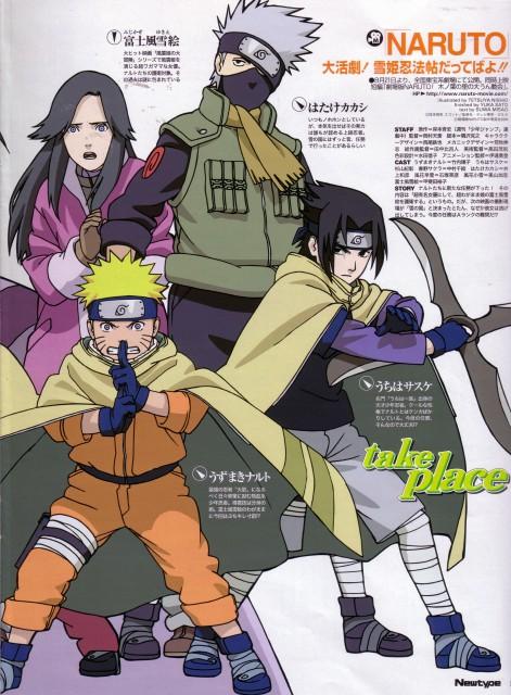 Studio Pierrot, Naruto, Naruto Uzumaki, Yukie Fujikaze, Kakashi Hatake