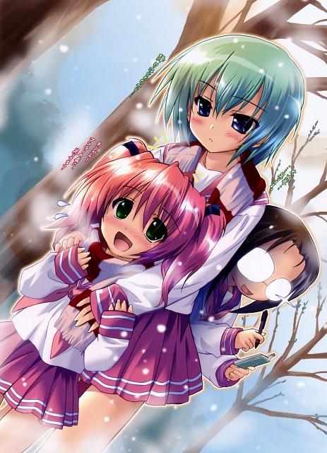 E-ji Komatsu, Kyoto Animation, Lucky Star, Minami Iwasaki, Hiyori Tamura