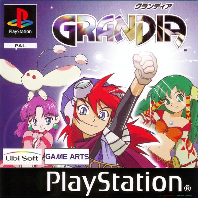 Square Enix, Grandia, Justin (Grandia), Feena (Grandia), Sue (Grandia)