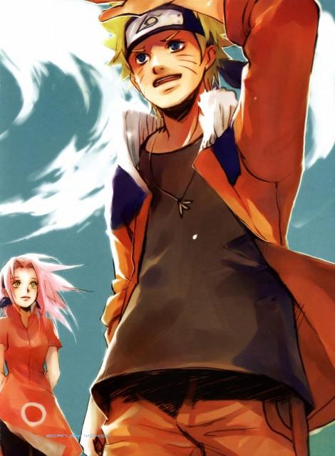 Shel, Naruto, Wind and Clover, Naruto Uzumaki, Sakura Haruno
