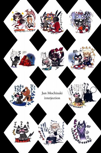 Jun Mochizuki, Pandora Hearts, Pandora Hearts ~odds and ends~, Vincent Nightray, Alice (Pandora Hearts)