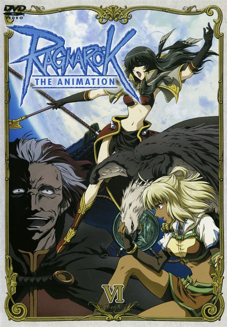 Ragnarok the Animation, Judia, Takius, DVD Cover