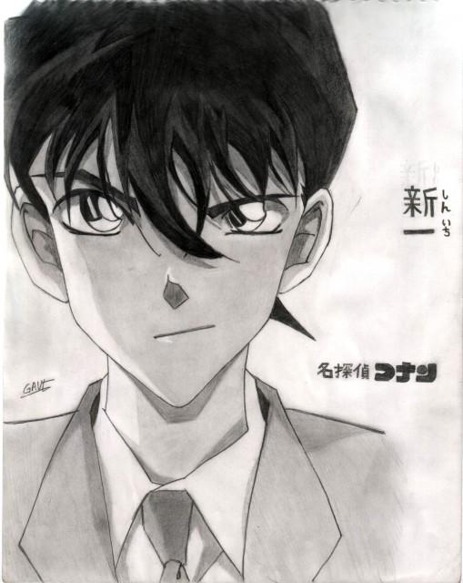 Detective Conan, Shinichi Kudou, Member Art
