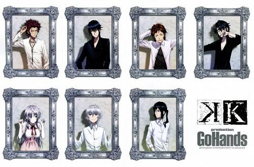 GoHands, K Project, Saruhiko Fushimi, Neko (K Project), Mikoto Suoh