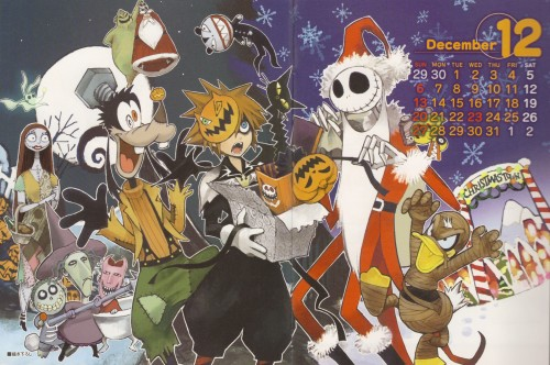 Shiro Amano, Square Enix, Kingdom Hearts, Donald Duck, Oogie Boogie