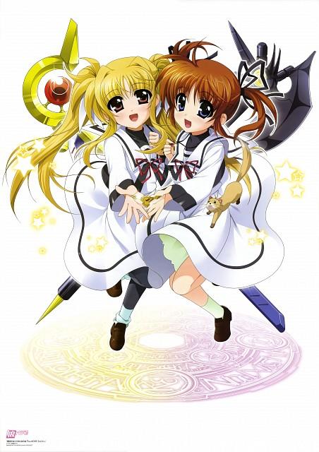 Yukari Higa, Seven Arcs, Mahou Shoujo Lyrical Nanoha, Yuuno Scrya, Fate Testarossa