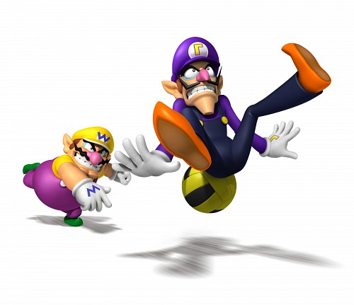 Nintendo, Super Mario, Waluigi, Wario, Official Digital Art
