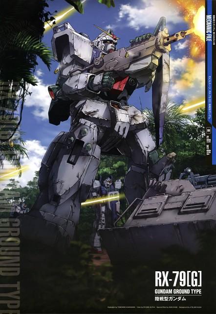 Sunrise (Studio), Mobile Suit Gundam: The 08th MS Team, Mobile Suit Gundam - Universal Century, Gundam Perfect Files