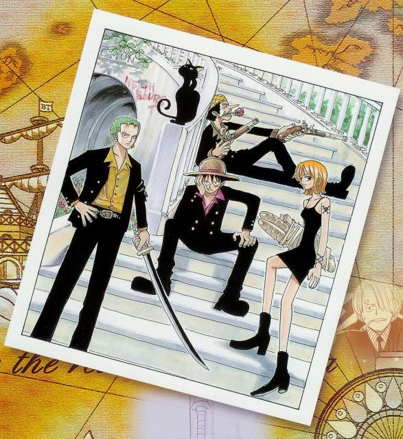 Eiichiro Oda, One Piece, Color Walk 1, Roronoa Zoro, Nami