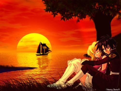 Sunrise (Studio), Mobile Suit Gundam SEED Destiny, Stellar Loussier, Shinn Asuka Wallpaper