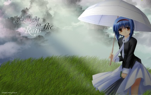 Key (Studio), Little Busters, Mio Nishizono Wallpaper
