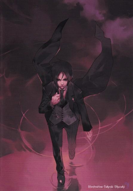 Takeshi Okazaki, Kuroshitsuji, Nijishitsuji - Comic Anthology, Sebastian Michaelis