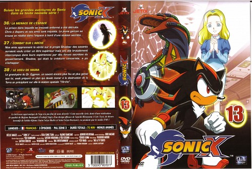 Sega, TMS Entertainment, Sonic the Hedgehog, Knuckles the Echidna, Maria Robotnik