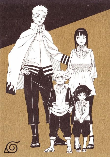 Masashi Kishimoto, Naruto, Naruto Uzumaki, Bolt Uzumaki, Himawari Uzumaki