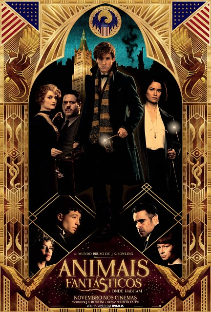 Warner Bros., Fantastic Beasts, Jacob Kowalski, Queenie Goldstein, Percival Graves