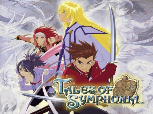 Namco, Tales of Symphonia, Sheena Fujibayashi, Zelos Wilder, Lloyd Irving Wallpaper