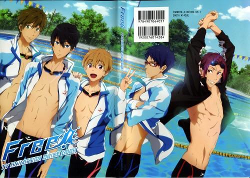 Futoshi Nishiya, Kyoto Animation, Free!, Free! TV Animation Guide Book, Rei Ryuugazaki