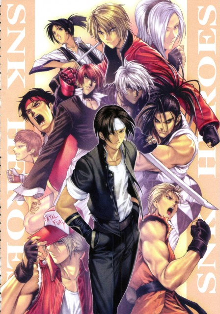 Homare, King of Fighters, Terry Bogard, Rock Howard, Iori Yagami