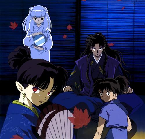 Rumiko Takahashi, Sunrise (Studio), Inuyasha, Kanna (Inuyasha), Naraku
