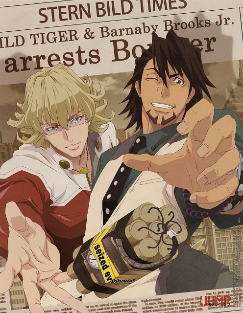 Sunrise (Studio), Tiger and Bunny, Ivan Karelin, Kotetsu T. Kaburagi, Barnaby Brooks Jr.