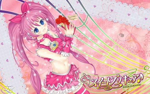 Suite Precure, Hibiki Hojo, Cure Melody, Member Art Wallpaper