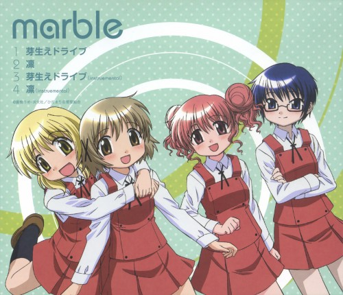 Hidamari Sketch, Hiro, Sae, Yuno, Miyako