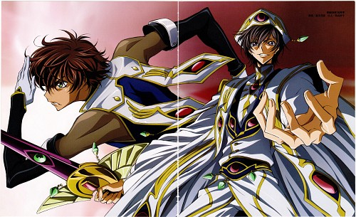 Sunrise (Studio), Lelouch of the Rebellion, Code Geass Archives 2006-2008 In Animage, Suzaku Kururugi, Lelouch Lamperouge