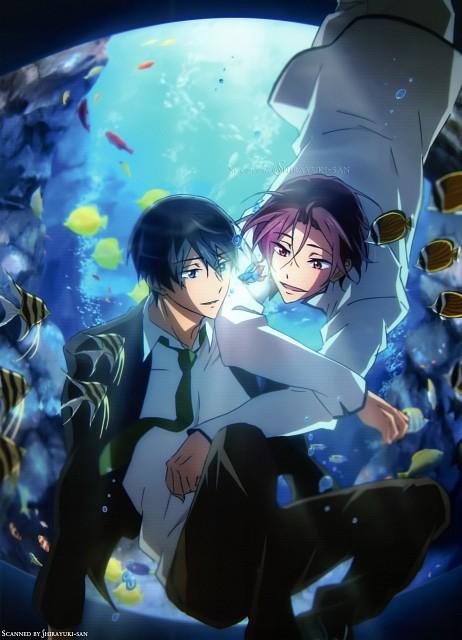 Hiroko Utsumi, Kyoto Animation, Free!, Haruka Nanase (Free!), Rin Matsuoka