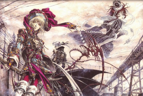 Shibamoto Thores, Gonzo, Trinity Blood, Ion Fortuna, Esther Blanchett