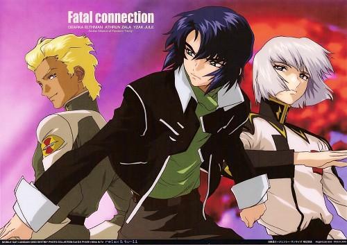 Hisashi Hirai, Sunrise (Studio), Mobile Suit Gundam SEED Destiny, Yzak Joule, Dearka Elthman