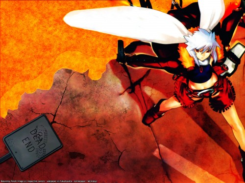 Ugetsu Hakua, Gonzo, Burst Angel, Jo Wallpaper