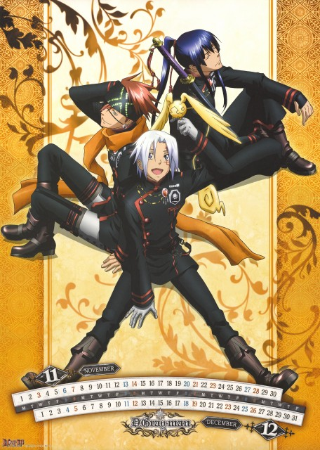 TMS Entertainment, D Gray-Man, Allen Walker, Yu Kanda, Timcanpy