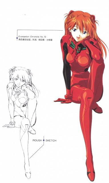 Youichi Fukano, Gainax, Neon Genesis Evangelion, Asuka Langley Soryu