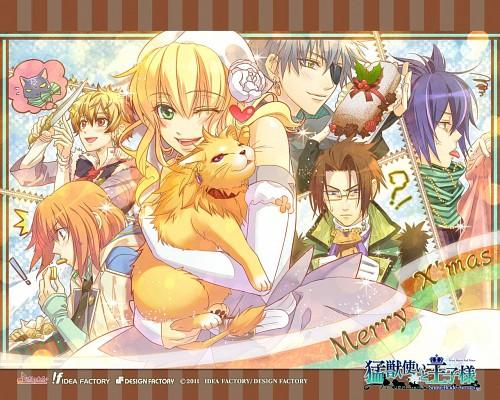 miko (Mangaka), Idea Factory, Beast Master and Prince, Alfred (Beast Master and Prince), Klaus (Beast Master and Prince)