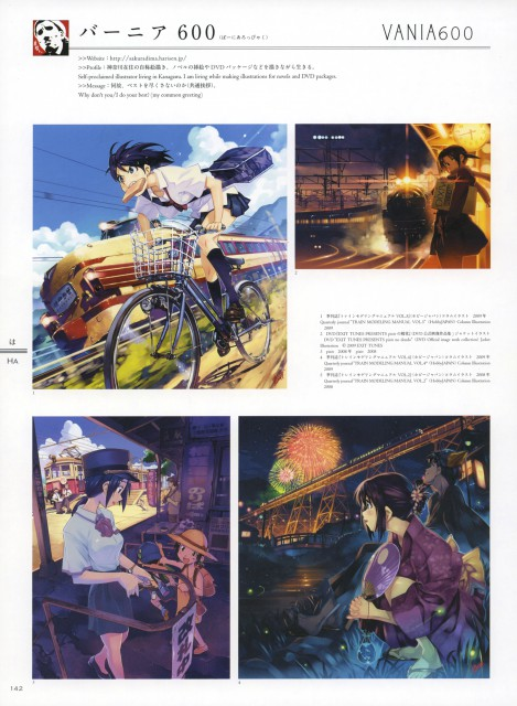 Vania600, Rail Wars!, 100 Masters of Bishojo Painting , Aoi Sakurai