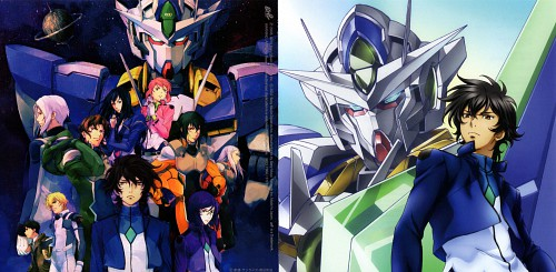 Sunrise (Studio), Mobile Suit Gundam 00, Lockon Stratos, Tieria Erde, Sherman Descartes