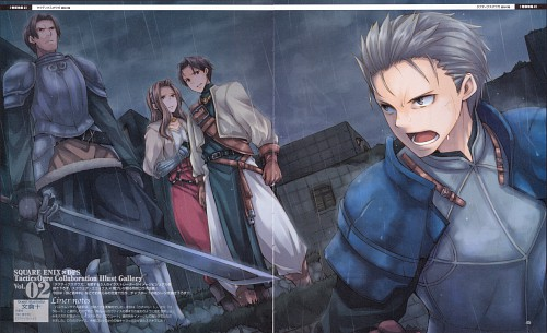 Square Enix, Tactics Ogre: Let Us Cling Together, Occupations