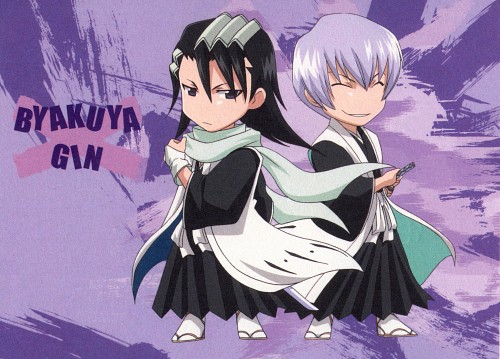 Studio Pierrot, Bleach, Gin Ichimaru, Byakuya Kuchiki