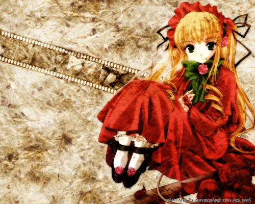 Peach-Pit, Studio Nomad, Rozen Maiden, Shinku Wallpaper