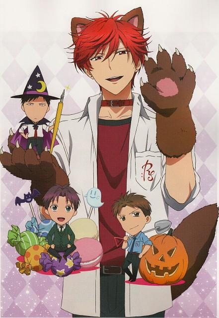 Izumi Tsubaki, Dogakobo, Gekkan Shoujo Nozaki-kun, TV Anime Gekkan Shoujo Nozaki-kun Official Fan Book, Masayuki Hori