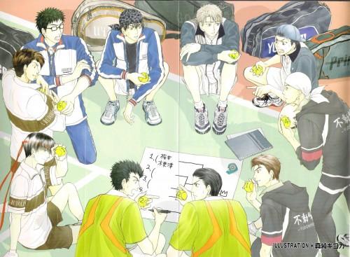 Prince of Tennis, Masaya Sakurai, Sadaharu Inui, Masami Higashikata, Choutarou Ootori