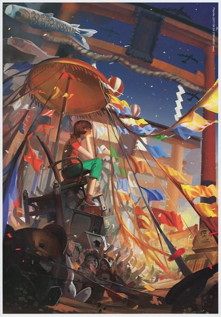 Alphonse, Paprika, Kaleidoscope -Mangekyou- Side: B, Paprika (Character), Comic Market 87