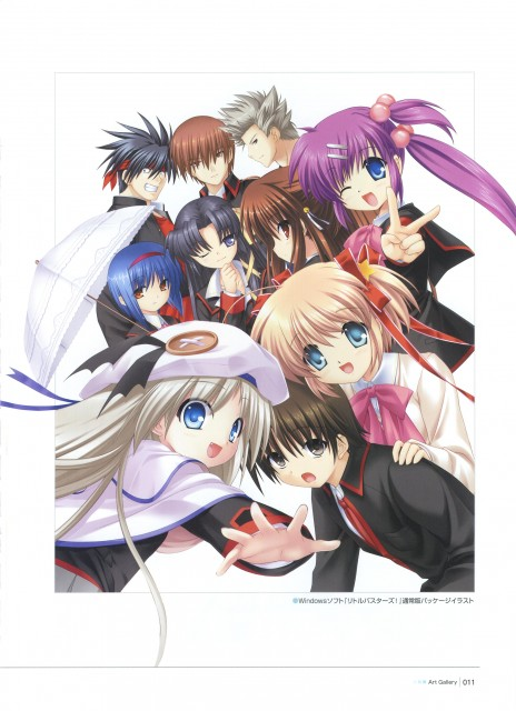 Key (Studio), Little Busters, Kengo Miyazawa, Komari Kamikita, Haruka Saigusa