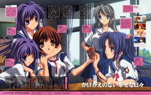 Kazumi Ikeda, Kyoto Animation, Clannad, Kyou Fujibayashi, Nagisa Furukawa