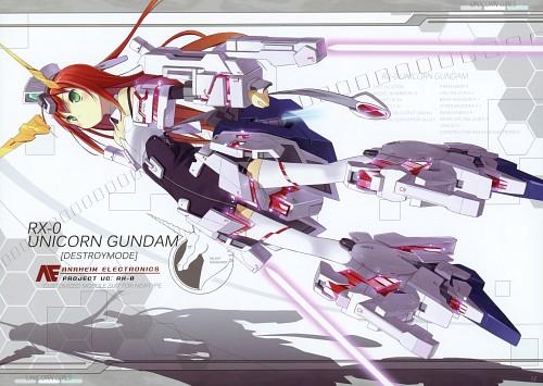 Poco, Asahige, Mobile Suit Gundam Unicorn, UNICORN GIRLS, Comic Market 80