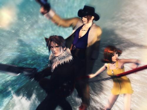 Square Enix, Final Fantasy VIII, Squall Leonhart, Irvine Kinneas, Selphie Tilmitt