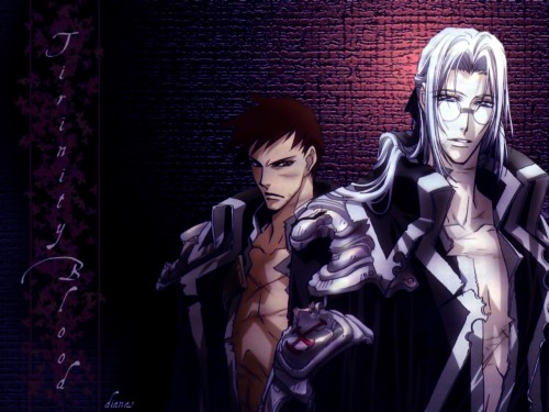 Gonzo, Trinity Blood, Abel Nightroad, Tres Iqus Wallpaper
