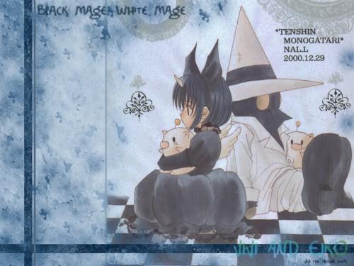 Square Enix, Final Fantasy IX, Eiko Carol, Moogle, Vivi Ornitier Wallpaper