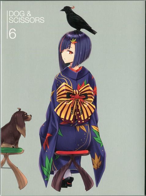 Gonzo, Inu to Hasami wa Tsukaiyou, Kazuhito Harumi, Momiji Himehagi, DVD Cover